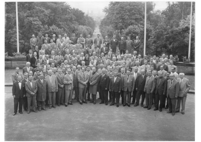 Männergesellschaft: Bayreuther Festspielorchester 1961