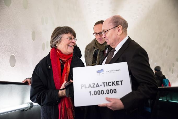 Besucherin Nr. 1.000.000! (c) Sophie Wolter